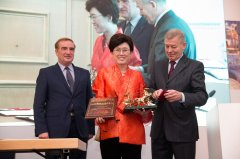 Ceremony of Golden Chariot International Transport Award was held in Vienna, November 11, 2015